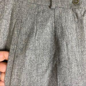 MaxMara Pants & Jumpsuits - MaxMara Campale Trousers Herringbone Wool Pants 10